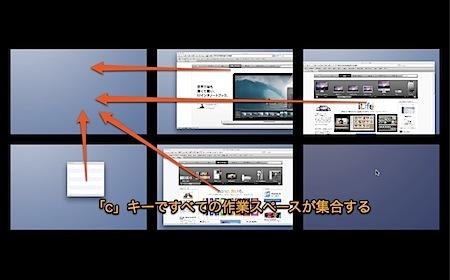 MacのSpacesで全てのウインドウを1つの操作スペースに強制的に集める方法 Inforati 1