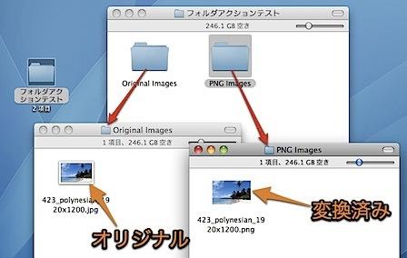 Macで複数の写真の「画像ファイルフォーマット」を同時に変換する方法 Inforati 5