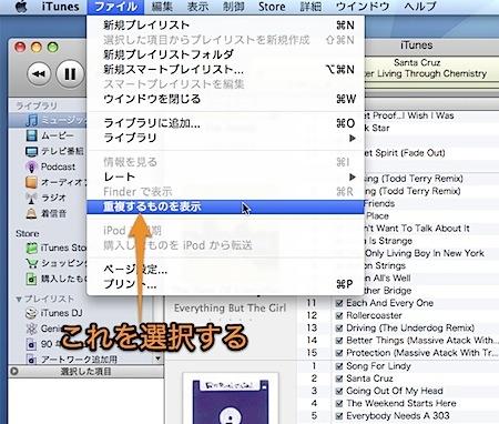 Mac iTunesで重複している曲を表示して削除する方法 Inforati 1