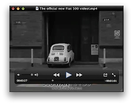 Mac QuickTime Player Xのウインドウの角を四角にする裏技 Inforati 2