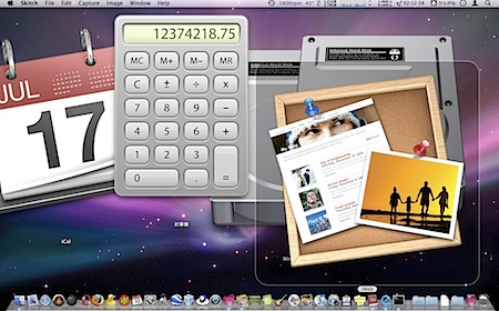 Macのデスクトップ上のアイコンを巨大化する裏技 Inforati 1