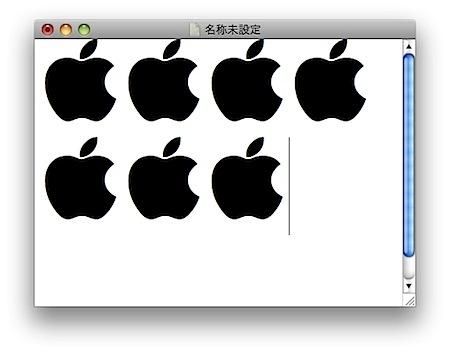アップルマークを入力できるMacのキーボードショートカット Inforati 1