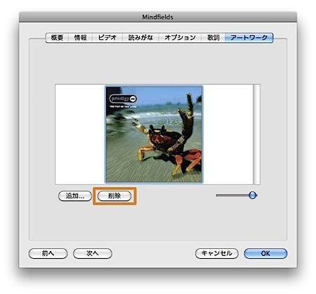 Mac iTunesのアルバムアートワークのトラブル対処方法 Inforati 3