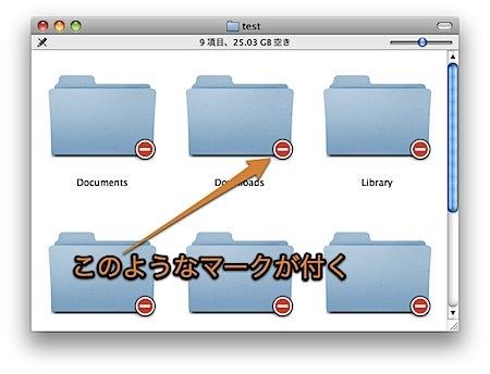 Mac Finderに表示中のフォルダの「アクセス権」をひと目で判別する方法 Inforati 1