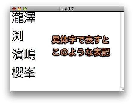 Mac ことえりで異体字を簡単に入力する方法 Inforati 2