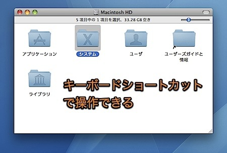 Mac Finderのキーボードショートカットまとめ(92種類) Inforati 1