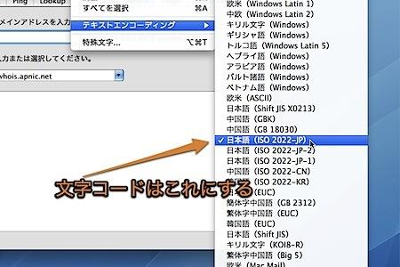 MacでWhoisを使用してドメインの登録情報を検索する方法 Inforati 3